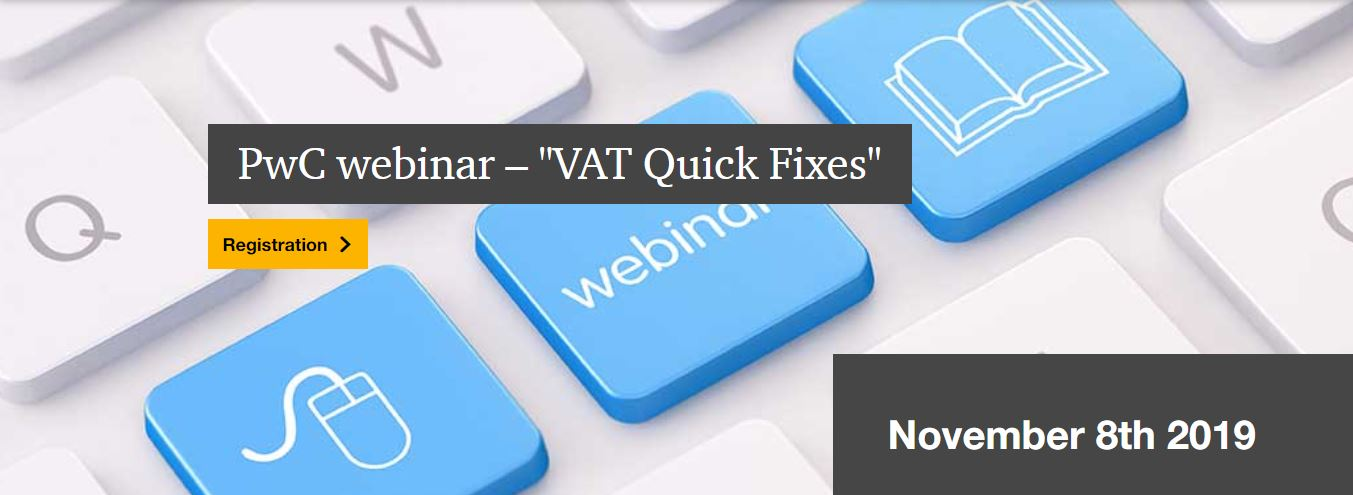 Webinar: Pharma & VAT Quick Fixes – Exploring the Right Formula